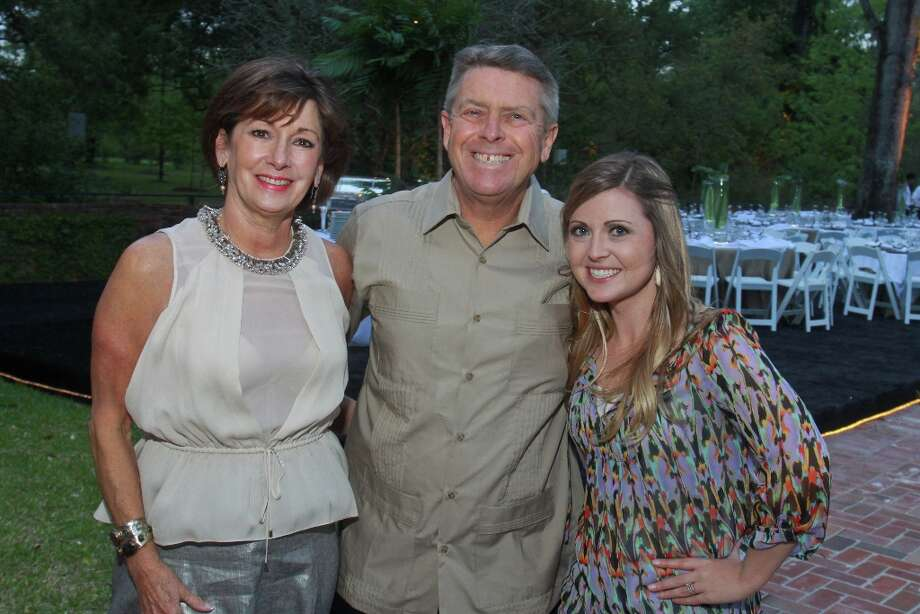Cathy and Joe Cleary, from left, with Randi Koenig. Photo: Gary Fountain, For The Chronicle / Copyright 2013 Gary Fountain