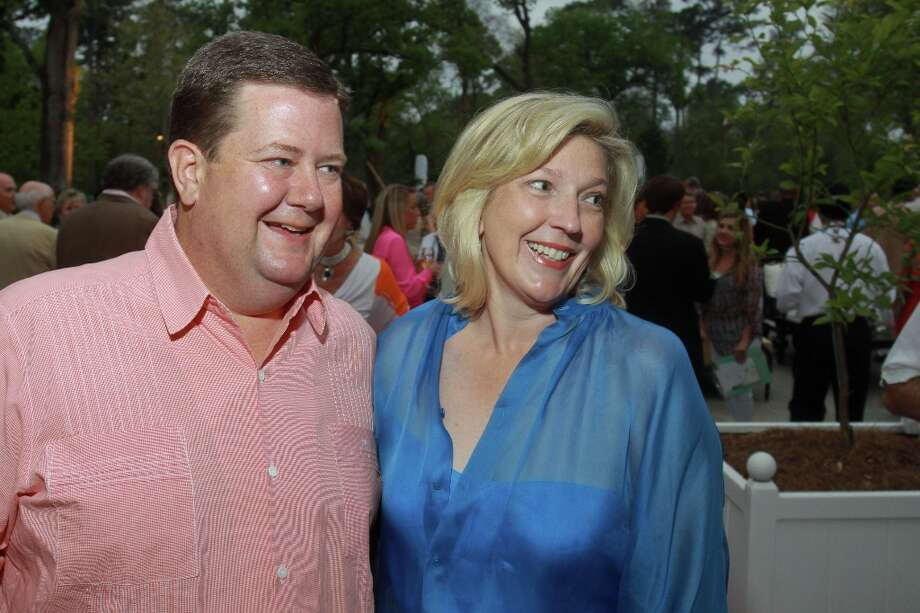 Jeff and Kathryn Smith. Photo: Gary Fountain, For The Chronicle / Copyright 2013 Gary Fountain