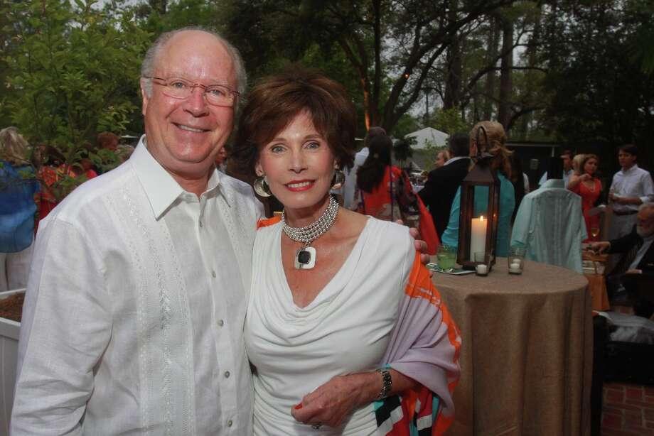 John and Patricia McDonald. Photo: Gary Fountain, For The Chronicle / Copyright 2013 Gary Fountain