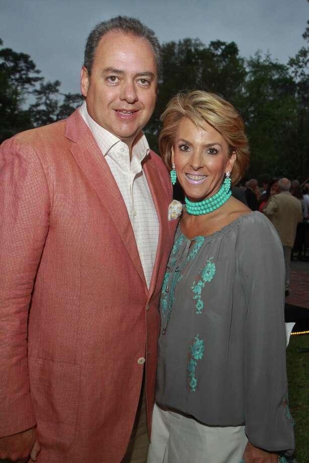 Ricardo and Maria Perusquia. Photo: Gary Fountain, For The Chronicle / Copyright 2013 Gary Fountain