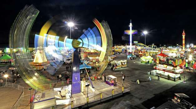 The 70th Annual YMBL Southeast Texas State Fair in Beaumont opened up Thursday, March 21, 2013. Photo taken: Randy Edwards/The Enterprise Photo: Randy Edwards