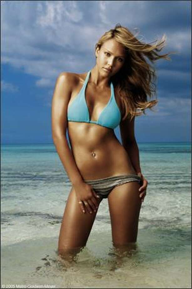 Jessica Alba played a shark and diving expert who finds something terrible in the water in the equally terrible movie ''Into the Blue'' (2005).