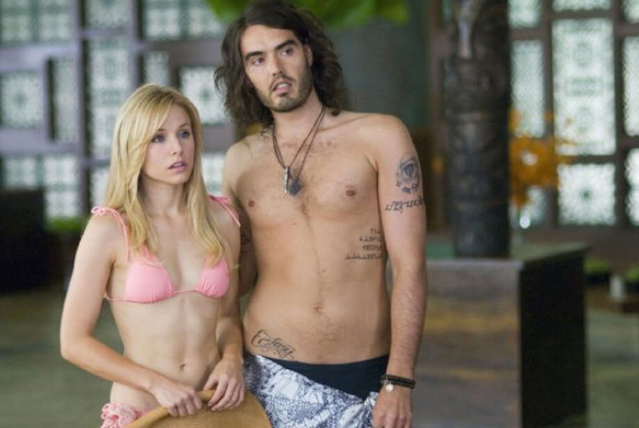 ''Forgetting Sarah Marshall'' was set in Hawaii, so of course Kristen Bell had to spend a lot of time in a bikini.