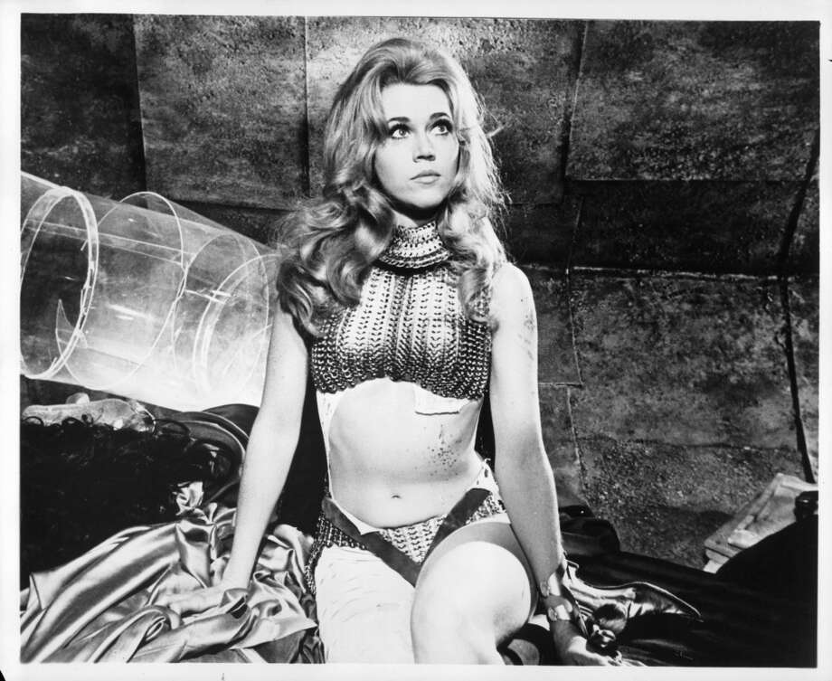 Because astronauts sometimes need to look sexy, here's Jane Fonda as ''Barbarella'' in 1968.