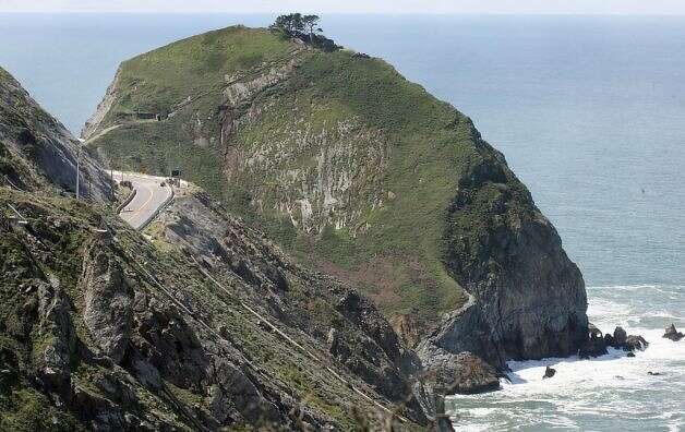 Highway 1 was built over Devil's Slide, a beautiful but unstable mountainside that gets hit with mudslides and rock slides in heavy rains and poses deadly traffic hazards year-round.