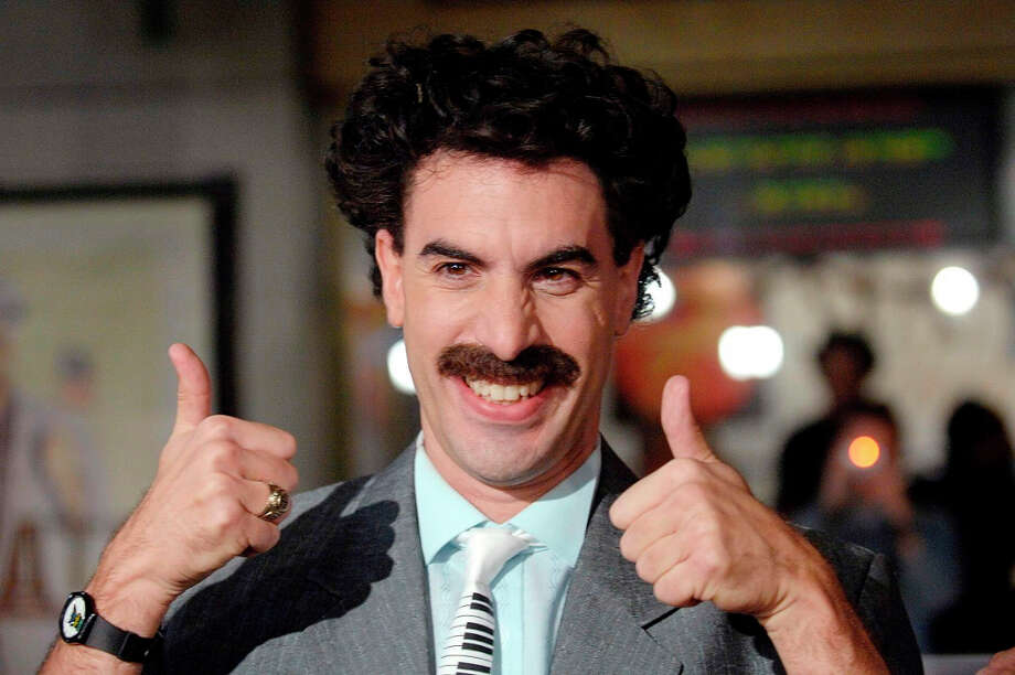 BORAT -- semi-documentary comedy from Sacha Baron Cohen. Photo: PHIL McCARTEN, REUTERS / X01882