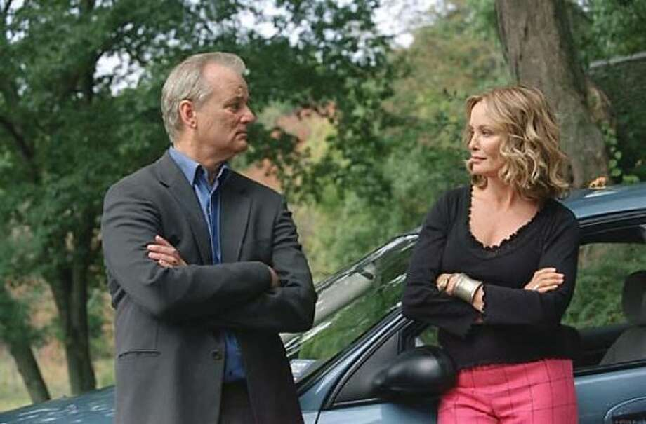 BROKEN FLOWERS -- Bill Murray on a journey visiting old girlfriends.