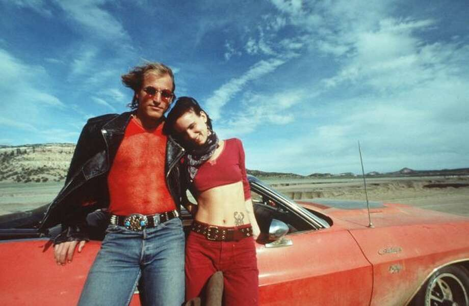NATURAL BORN KILLERS -- Oliver Stone's movie about two serial killers on a rampage.