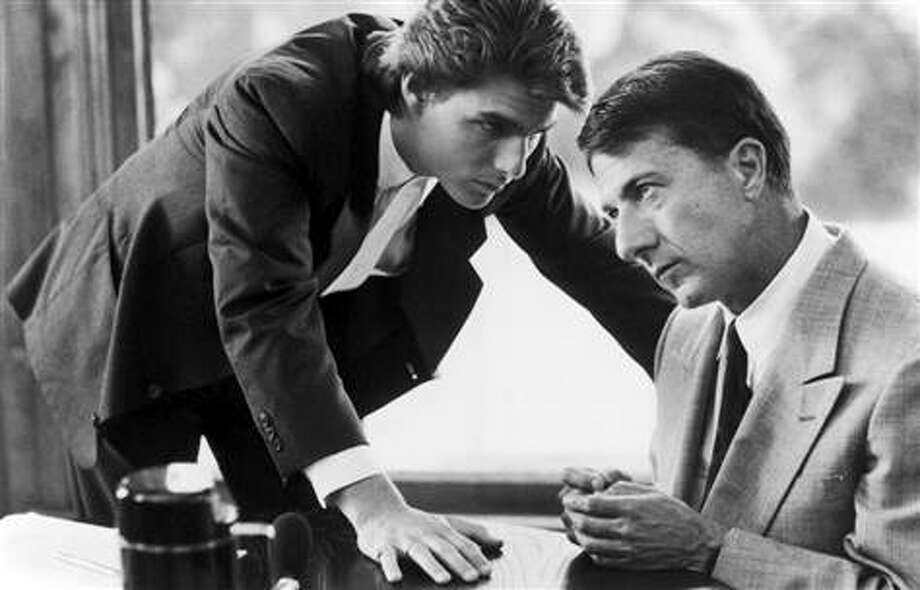 RAIN MAN -- with Dustin Hoffman and Tom Cruise.