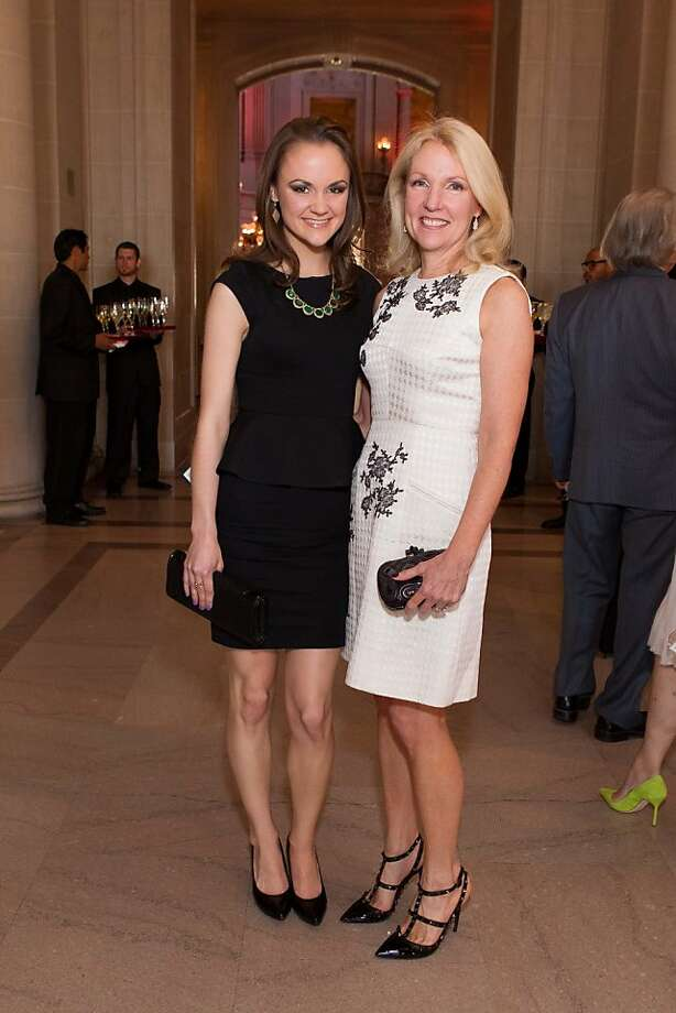 Gabrielle Girard and Ann Girard during the San Francisco Opera Guild and Neiman Marcus Union Square's presentation of The Art of Fashion: Jason Wu runway show on March 21, 2013. Photo: Drew Altizer Photography