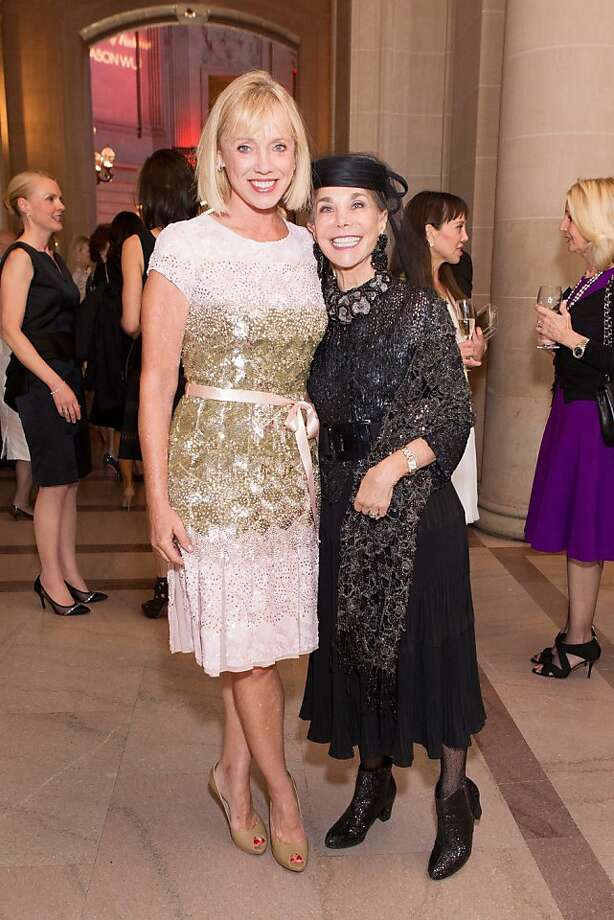 Diane Rubin and Julie Coplon during the San Francisco Opera Guild and Neiman Marcus Union Square's presentation of The Art of Fashion: Jason Wu runway show on March 21, 2013. Photo: Photo : Drew Altizer Photography