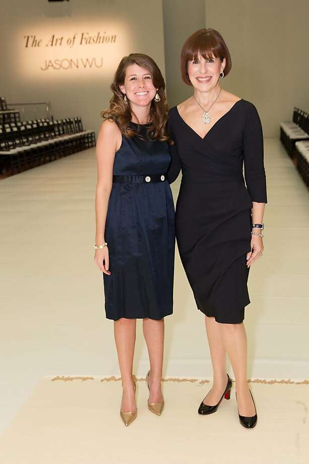 Maggie Koenig and Terri Mino during the San Francisco Opera Guild and Neiman Marcus Union Square's presentation of The Art of Fashion: Jason Wu runway show on March 21, 2013. Photo: Drew Altizer Photography