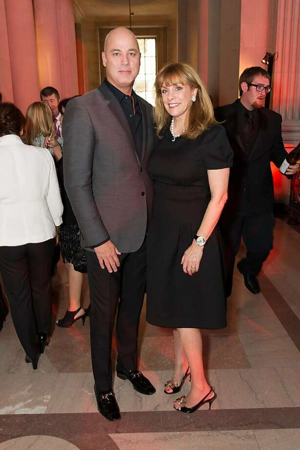Robert Fountain and Cathy MacNaughton during the San Francisco Opera Guild and Neiman Marcus Union Square's presentation of The Art of Fashion: Jason Wu runway show on March 21, 2013. Photo: Drew Altizer Photography