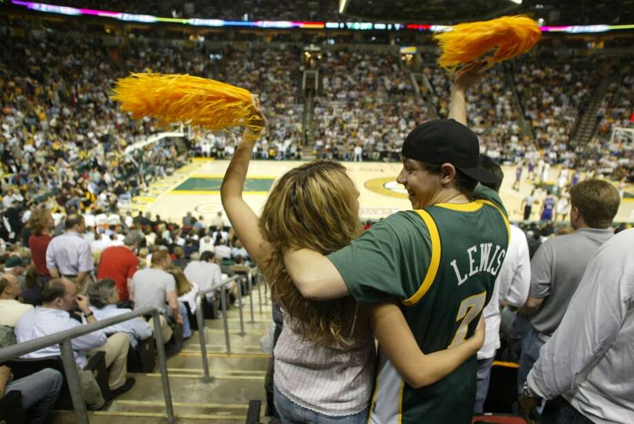March 14: Chris Hansen's group launches a ''Sonics priority ticket waitlist'' for people to reserve a spot in line when/if 2013-14 Sonics tickets are released to the public. Seattle fans temporarily crash the Sonics Arena website as the service goes live.