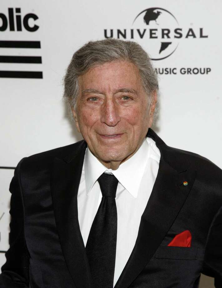 Singer Tony Bennett attends the 2013 Amy Winehouse Foundation Inspiration Awards and Gala on Thursday March 21, 2013, at the Waldorf Astoria Starlight Room in New York. (Photo by Andy Kropa/Invision/AP) Photo: Andy Kropa