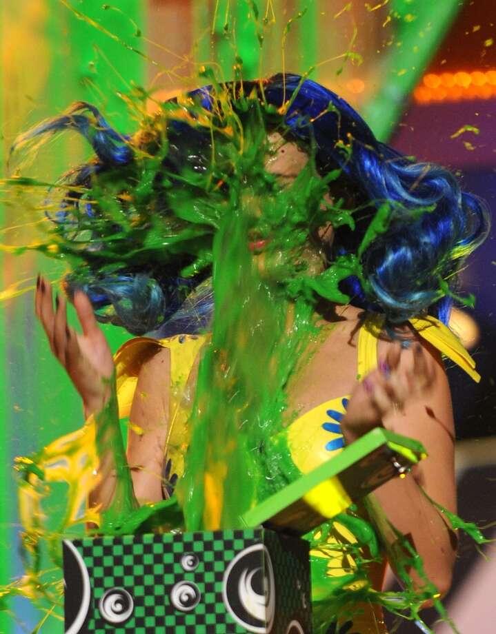 Katy Perry in 2010 Photo: Kevin Mazur/KCA2010, WireImage / 2010 Kevin Mazur
