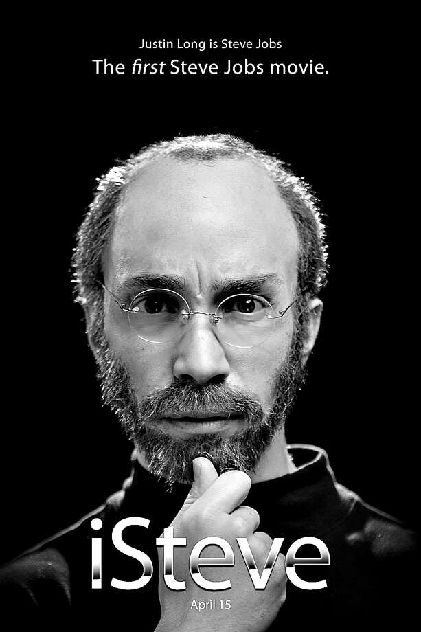 "Justin Long took on Steve Jobs' later bearded, turtlenecked look in Funny or Die's spoof biopic ""iSteve."" Photo: New York Times / HANDOUT"