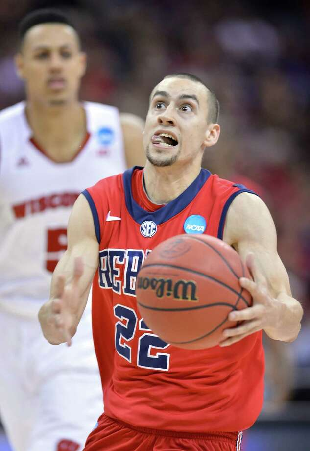 Ole Miss 57, Wisconsin 46Rebels guard Marshall Henderson scored a game-high 19 points in the victory in Kansas City, Missouri. Photo: David Eulitt, McClatchy-Tribune News Service / Kansas City Star
