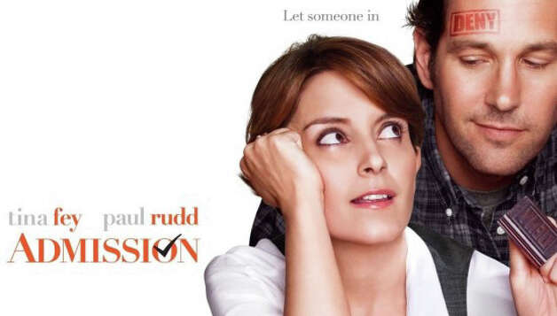 """Admission,"" the new movie starring Tina Fey and Paul Rudd, is now playing in area theaters. Photo: Contributed Photo / Westport News contributed"