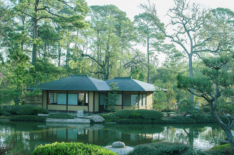 The Teahouse, Centerpiece Of The Japanese Garden In Hermann Park Photo:  Chuck Cook Photography