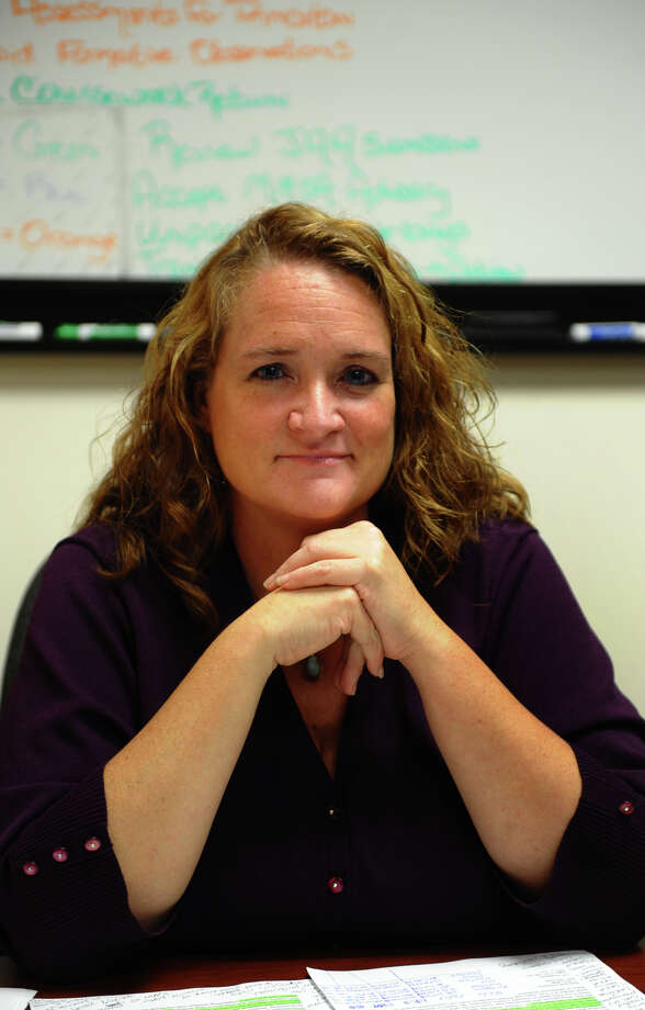 Dr. Jacqueline Kelleher is stepping down as chairwoman of the Bridgeport Board of Education after six months in the role. Photo: Christian Abraham / Connecticut Post