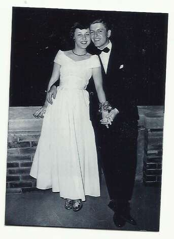 Then: Ruth Paul and Tony Weissgarber, taken in 1949. Both were students at Kent State University. They married in 1952. Photo: Courtesy Photo