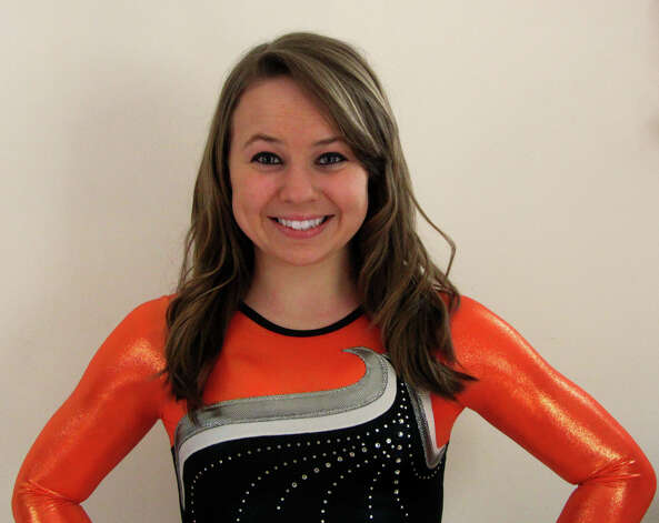 Meghan French Shelton High School gymnastics sports all star athlete Photo: Contributed Photo / Connecticut Post Contributed
