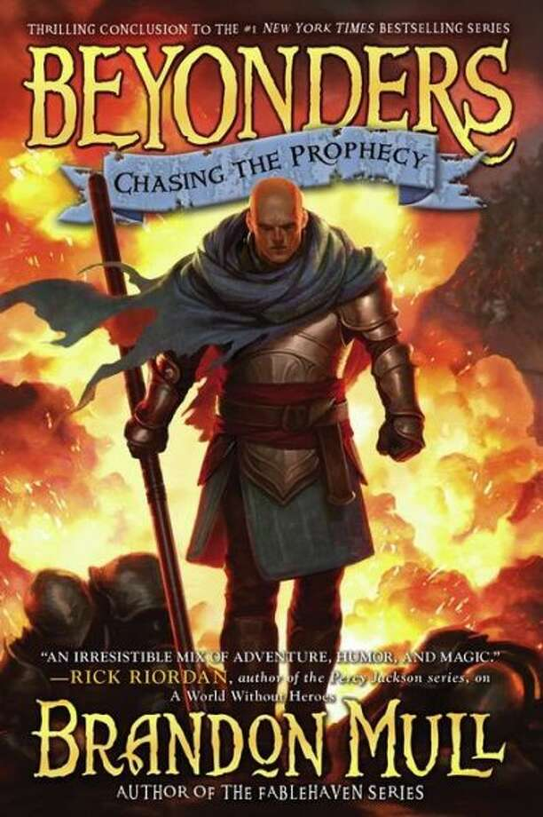 Chasing the Prophecy (Beyonders Series #3) by Brandon Mull Photo: --