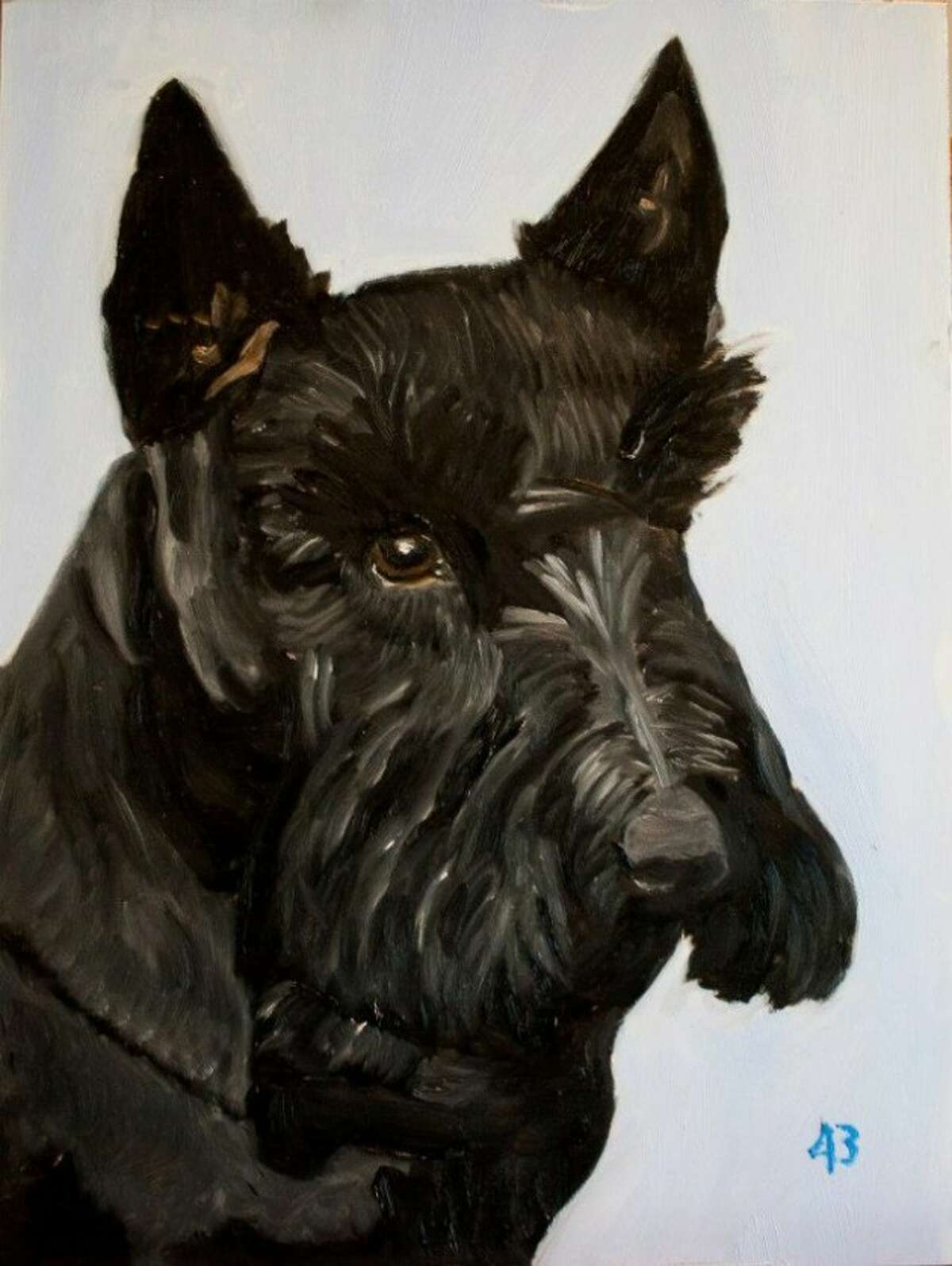 Congratulations to Barney, whose sophisticated visage has risen in our George W. Bush paintings bracket to be named Chron.com readers' favorite.