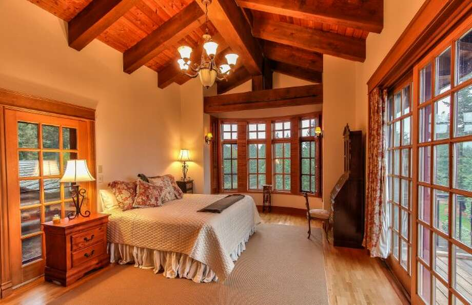 Main house upper level master suite 'hers' area of Scimitar Ridge Ranch, 7535 Highway 20, on Fidalgo Island. The 70-acre camp, built in 1993, features a 21,760-square-foot main residence, a lodge, a chapel, a barn turned lodge known as 'The Ark,' a barn turned apartment, a chapel, a carriage house, a pump station, an office with two apartments and a barbecue pavilion. It's listed for $8.5 million. Photo: Courtesy John Prosser And Wally Gudgell/Windermere Real Estate