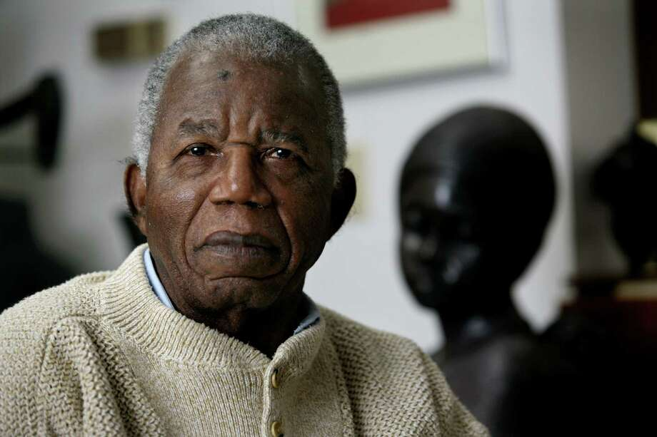 """Chinua Achebe's 1958 novel, """"Things Fall Apart,"""" is widely regarded as the first major work of modern African fiction. Photo: Craig Ruttle / Associated Press"""