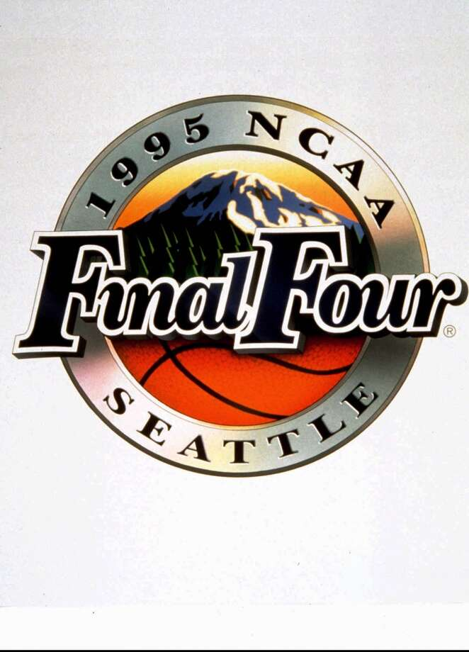 1995:Here's the official logo for the 1995 Final Four at the Kingdome in Seattle.