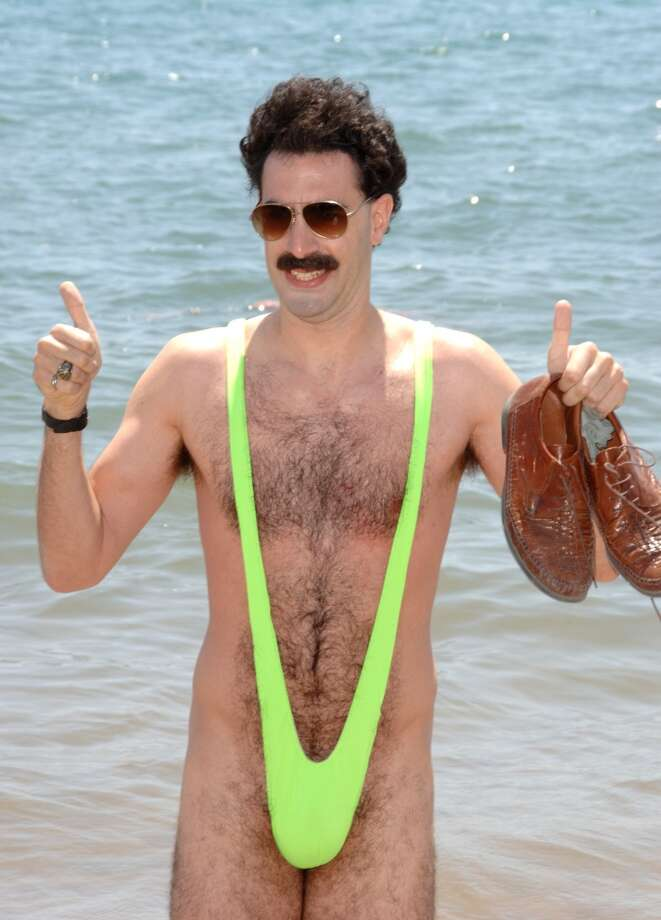 A close relative of the bikini - the ''tankini,'' popularized in ''Borat,'' with Sacha Baron Cohen. (2006).