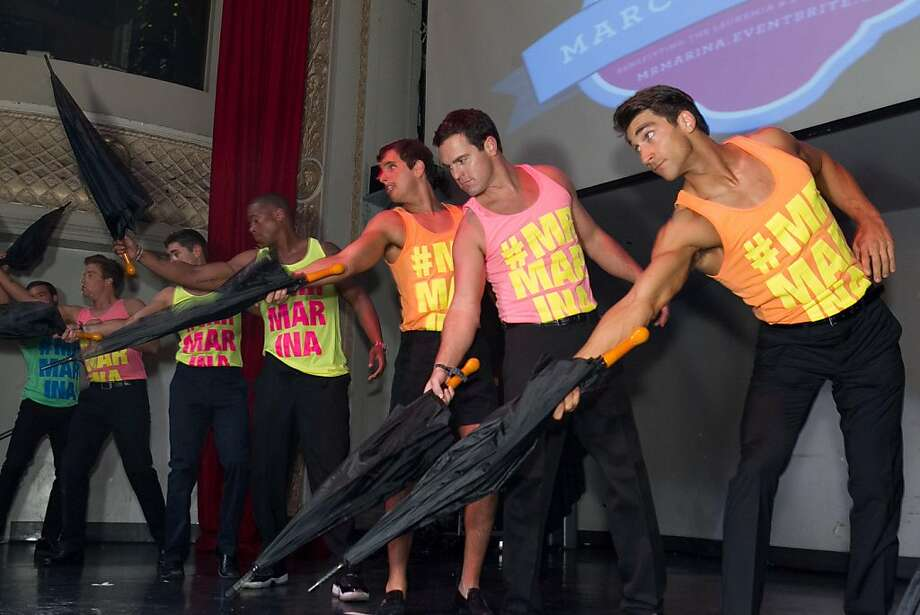 Contestants in the Mr. Marina pageant at Ruby Skye March 20 helped raised money for the Lymphoma and Leukemia Society. Photo: Drew Altizer Photography