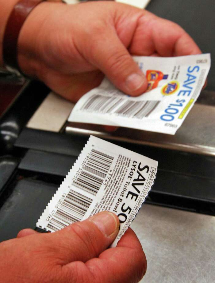 Times Union staff photo by John Carl D'Annibale:   A clerk handles coupons at the Route 9, Price Chopper in Latham, Friday morning July 6, 2007.  FOR WECHSLER STORY Photo: John Carl D'Annibale / Albany Times Union