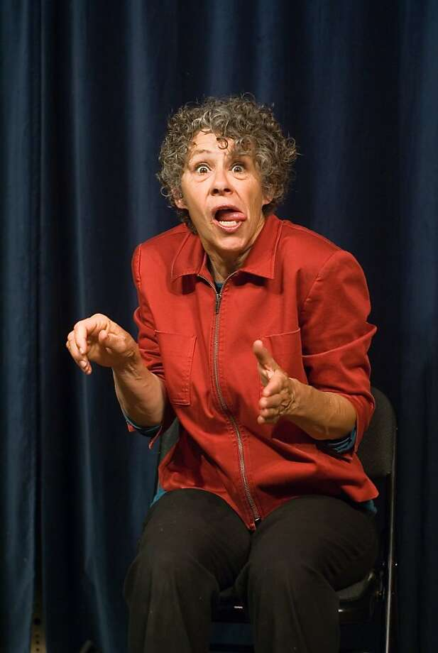 Elaine Magree embarks on a genealogical mystery tour in her one-woman show. Photo: Richard Politowski