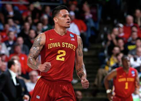 Iowa State 76, Notre Dame 58DAYTON, OH - MARCH 22: Chris Babb #2 of the Iowa State Cyclones reacts after a last second lay up at the end of the first half against the Notre Dame Fighting Irish during the second round of the 2013 NCAA Men's Basketball Tournament at UD Arena on March 22, 2013 in Dayton, Ohio. Photo: Joe Robbins, Getty Images / 2013 Getty Images