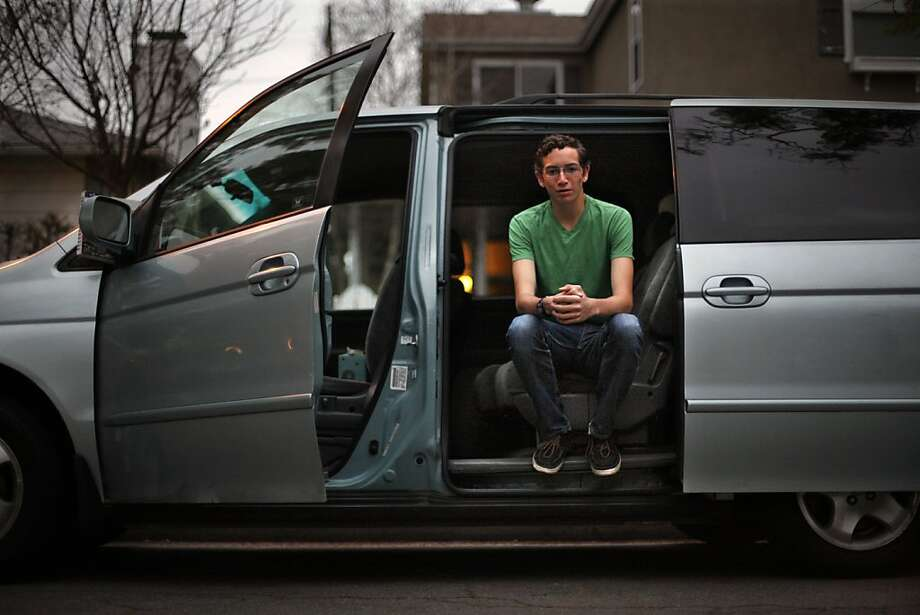 Christian Kerr, 16, of Long Beach, is one of today's teens who are in no hurry to get behind the wheel. Photo: Bob Chamberlin, McClatchy-Tribune News Service