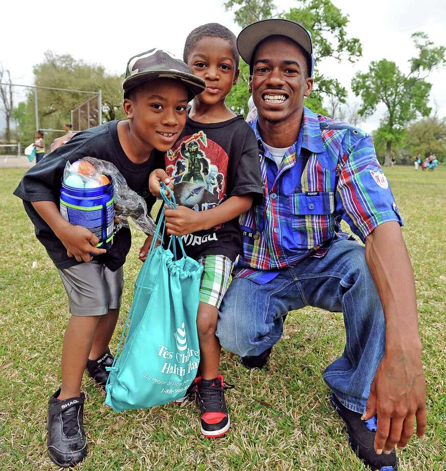 Our cameras were at the Sterling Pruitt Activity Center Easter egg hunt on Saturday, March 23, 2013. Did we see you there?  Photo taken: Randy Edwards/The Enterprise