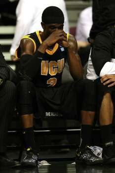 Briante Weber #2 of the Virginia Commonwealth Rams sits on the bench dejected against the Michigan Wolverines. Photo: Jonathan Daniel, Getty Images / 2013 Getty Images