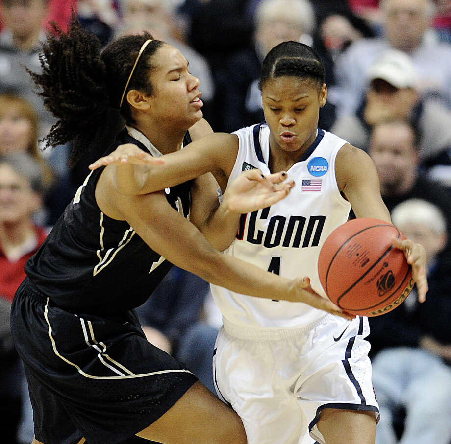 Saturday: There is an excellent chance UConn will be the main attraction when the regional semifinals of the NCAA women's tournament tips off Saturday at Webster Bank Arena in Bridgeport. Visit www.websterbankarena.com for more info. Photo: Jessica Hill, Associated Press / FR125654 AP