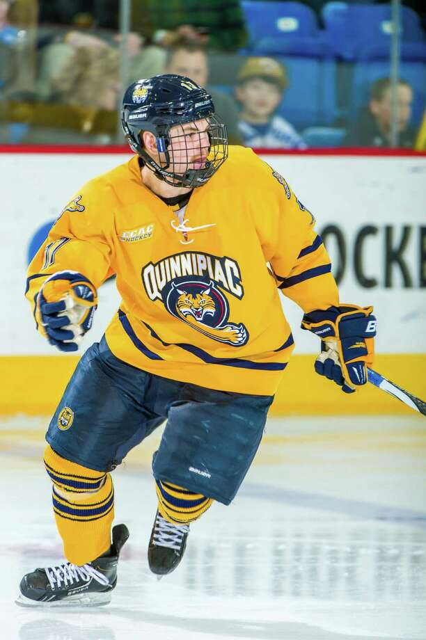 Jeremy Langlois has a 'compete' level that has helped drive Quinnipiac to the No. 1 ranking this season. Photo: Contributed Photo / Connecticut Post Contributed