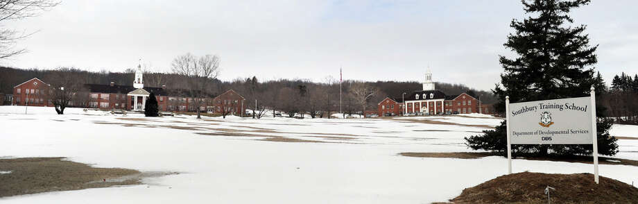 Southbury Training School is on Route 67 in Southbury. There's now a move under way to keep about 900 acres of of the school's 1,600 acres as farmland. Photo: Carol Kaliff, ST / The News-Times