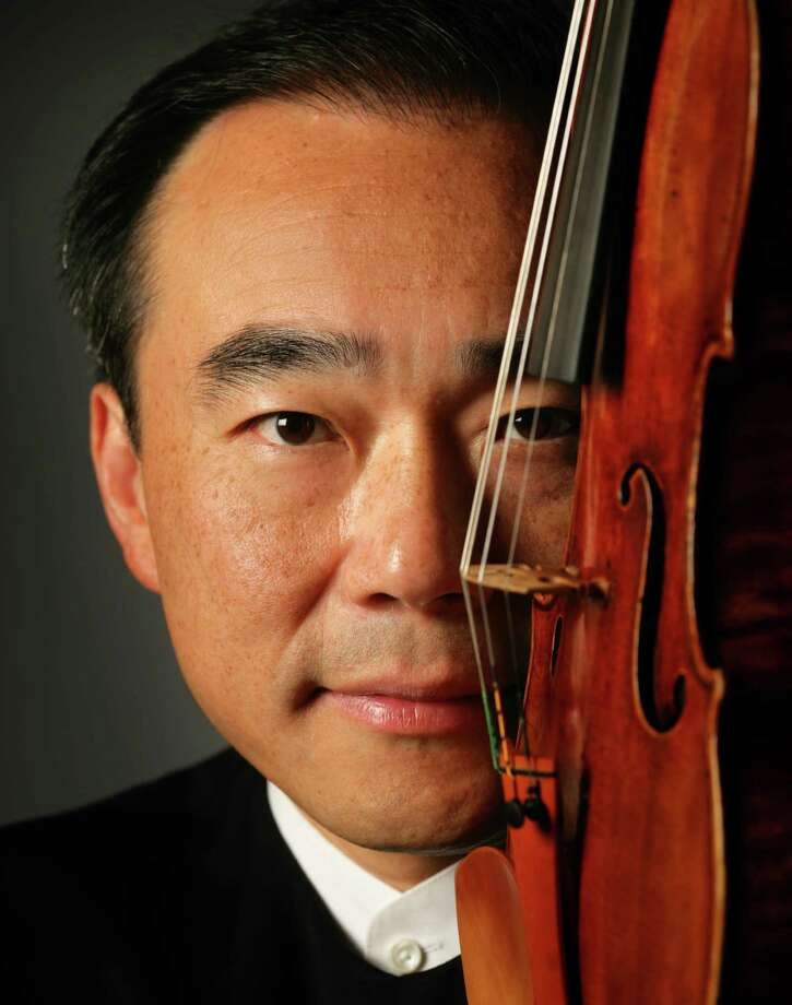 Violinist Cho-Liang Lin played and conducted the concert. Photo: Paul Body / Courtesy Photo
