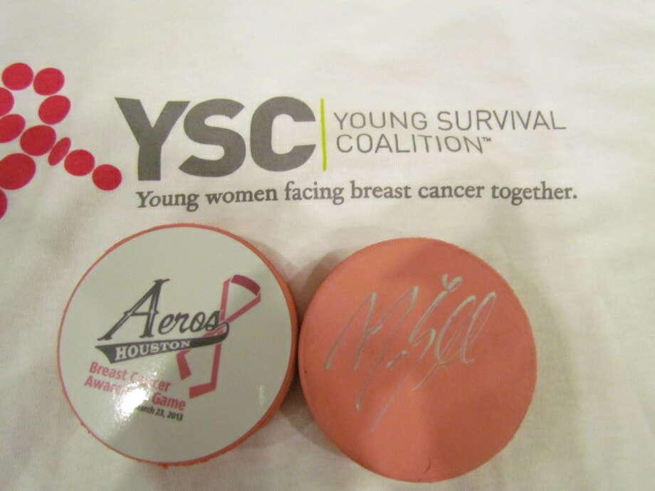 Aeros breast cancer awareness game.
