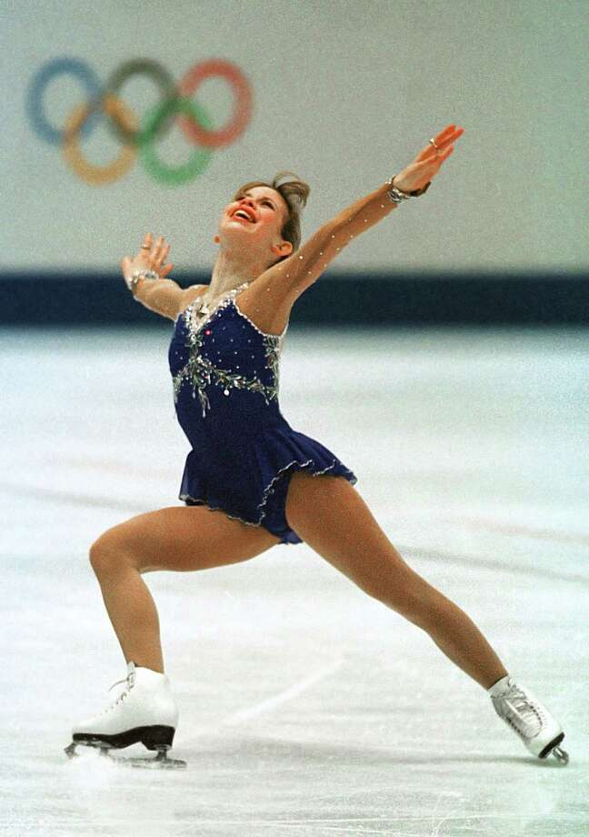 Tara Lipinski was the 1997 national and world figure skating champion. At 15, she won the ladies singles gold medal to become youngest individual gold medalist in Winter Olympics history. Photo: SMILEY N. POOL, HOUSTON CHRONICLE / HOUSTON CHRONICLE