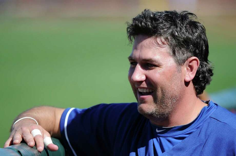 Despite not being a fan of the position, former Astro Lance Berkman will receive $10 million from the Rangers this season to serve as a primary designated hitter for the first time in his career. Photo: Lisa Blumenfeld, Contributor / 2013 Lisa Blumenfeld