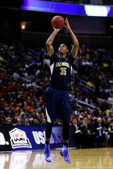 SAN JOSE, CA - MARCH 23:  Richard Solomon #35 of the California Golden Bears shoots a free throw in the second half against the Syracuse Orange during the third round of the 2013 NCAA Men's Basketball Tournament at HP Pavilion on March 23, 2013 in San Jose, California. Photo: Ezra Shaw, Getty Images / 2013 Getty Images