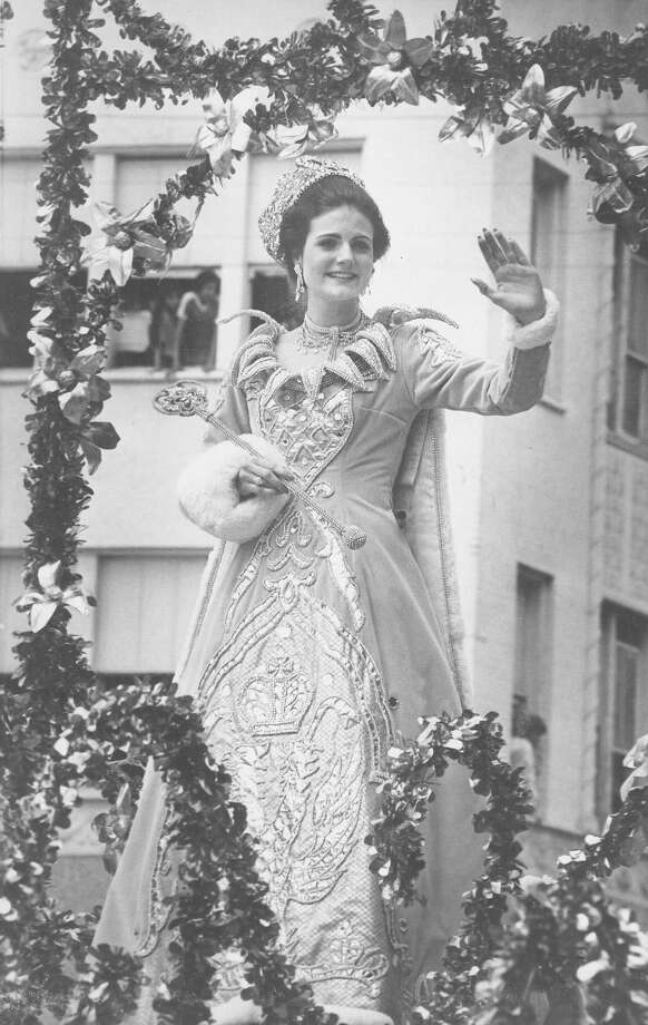 1982, Karen Elizabeth Clegg: Queen of the Imperial Court of Faberge. Photo: San Antonio Express-News File Photo