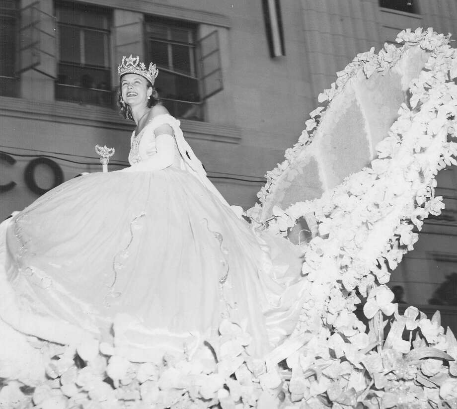 1949, Terry Emerson: Queen of the Court of Gaiety. Photo: San Antonio Express-News File Photo